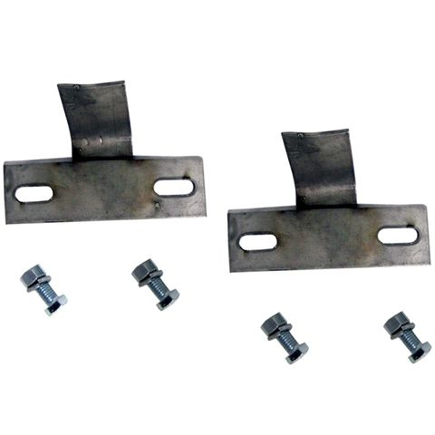 Stainless steel mounting kit with hardware