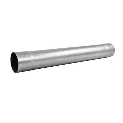 Muffler Delete Pipe 4in. Inlet/Outlet 30in. Overall; AL