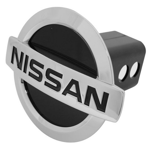 NISSAN CHROME HITCH COVER