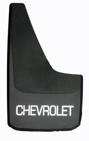 BLACK CHEV SPLASH GUARD
