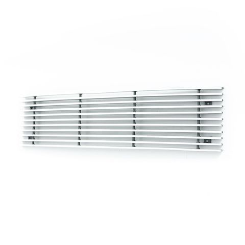 Horizontal Billet Overlay Bumper Grille Chrome