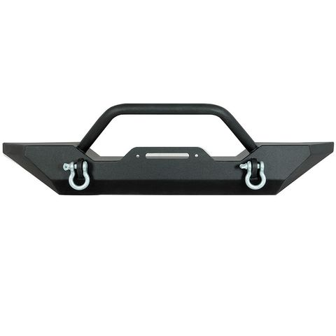 Heavy Duty Rock Crawler Front Bumper Black