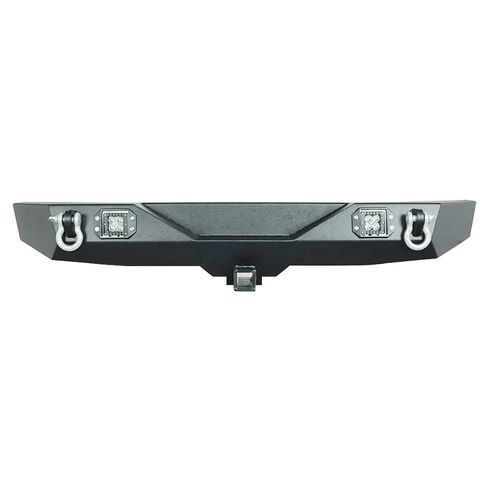 Heavy Duty Rock Crawler Rear Bumper w/LED