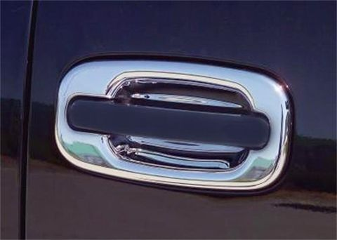 Door Handle; Chrome; Driver Si
