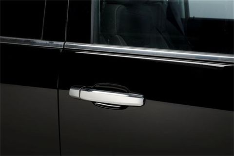 2014 GMC DOOR HANDLE COVER2 DR W/O PASS KEY HOLE