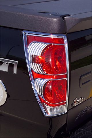 Tail Lamp Cover; Chrome