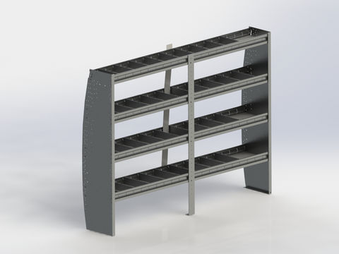 Shelf Unit, Contoured, Sprinter