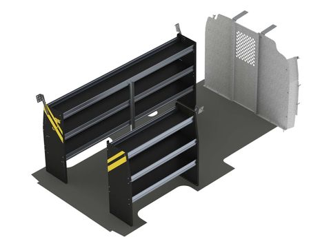 Contractor Van Shelving Package, Chevrolet Express, 155 WB