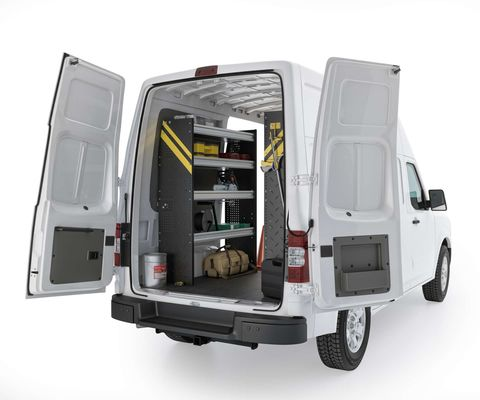 Contractor Van Shelving Package, Nissan NV High Roof