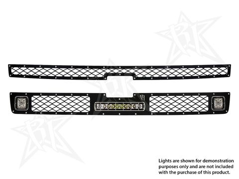 Chevy 2500/3500 - 2011-2013 Grille Kit - 2XDually/D2, 10