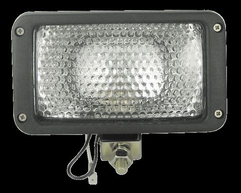 Halogen Flood Lamp; 3 in. x 5 in.; 12V;