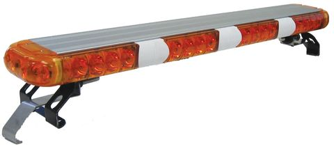 LED Warning Light Bar; 23 in.; Amber; Mounting Bracket; Incl. Control Box; SAE