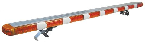 LED Warning Light Bar; 45 in.; Amber; Mounting Bracket; Incl. Control Box; SAE