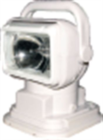 Remote Control HID Search Lamp; White Housing; 12V; 55 watt; 230000 CP;