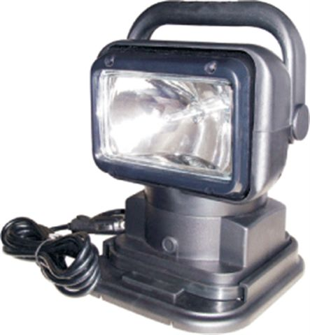 Remote Control HID Search Lamp; Black Housing; 12V ;55 watt; 230000 CP;