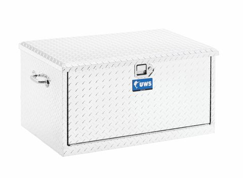 UWS 38IN. ALUMINUM CHEST WITH 2 DRAWER SLIDES