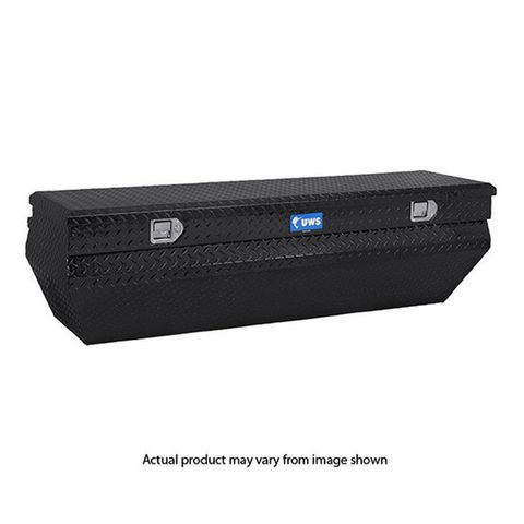 UWS 55IN. ALUMINUM CHEST BOX WEDGE NOTCHED BLACK