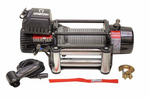 Warrior Spartan Winch 12000lb - Synthetic