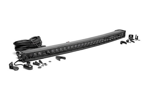 30-inch Black Series Single Row Curved CREE LED Light Bar