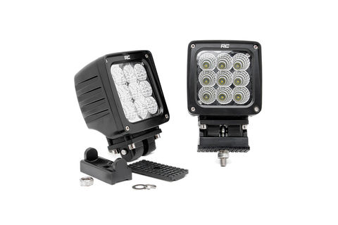 4-inch CREE LED Square Lights (Pair)