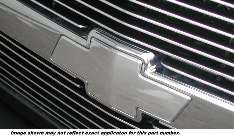 AMI CHEVY BOWTIE GRILLE EMBLEM W/O BORDER-POLISHED