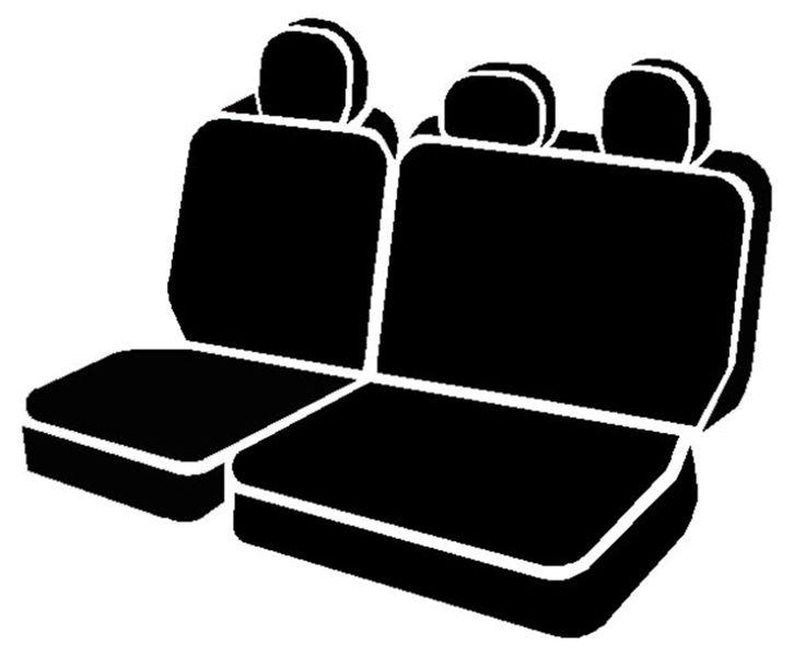 Wondrous Oe Rear Split Bench Seat Cover Ford F150 11 12 Fiaoe32 Inzonedesignstudio Interior Chair Design Inzonedesignstudiocom