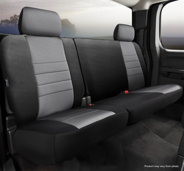 np rear 60 40 seat cover ford f 150 super crew 15 18 super duty 17 18 fianp92 39gray. Black Bedroom Furniture Sets. Home Design Ideas