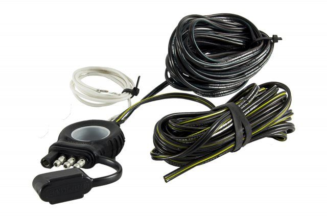 endurance easy-pull 4 flat y-harness (20)trailer tow harness hopkins#hpk1200482044