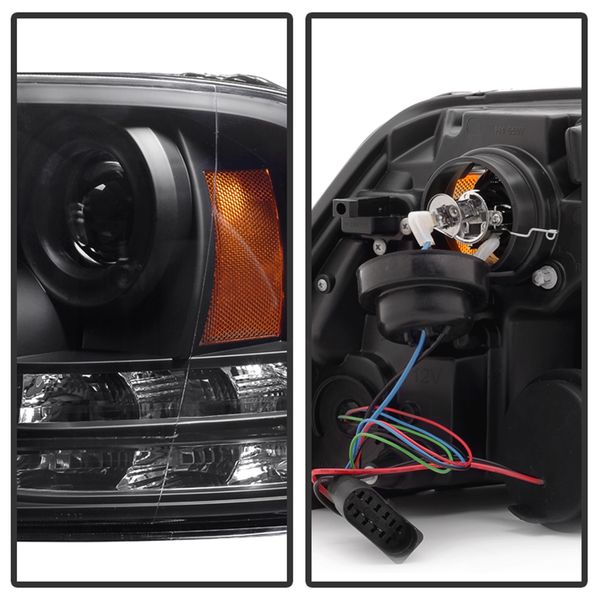 Spyder ) Dodge Ram 1500/2500/3500 13-16 Projector Headlights