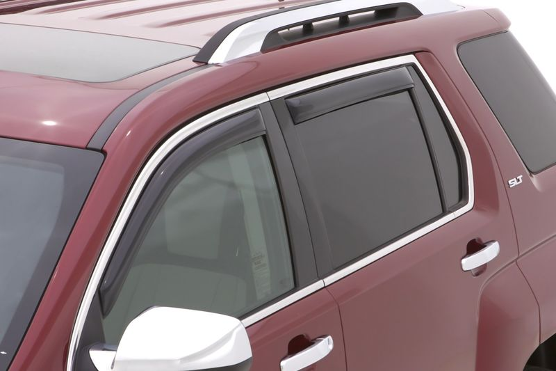 R Auto Ventshade 194141 Side Window Vent-Ventvisor In-Channel Deflector 4 pc