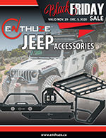 Enthuze Black Friday Jeep Accessories