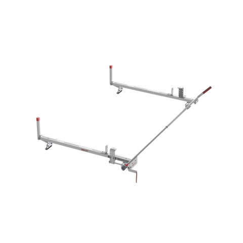 Model 223-3-03 Quick Clamp Rack, Passenger Side, Aluminum, Compact, 60 in