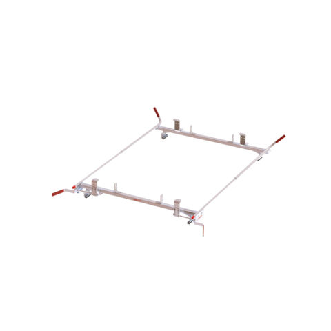 Model 234-3-03 Quick Clamp Rack, Dual Side, Aluminum, Full Size, 70 in