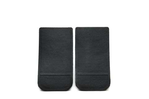 Universal 12 x 22 Black Rubber Mud Flaps