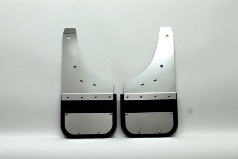 Sierra 1500 / 2500 / 3500 - front mud flaps (5/8 offset). Also fits 2014 2500/3500.