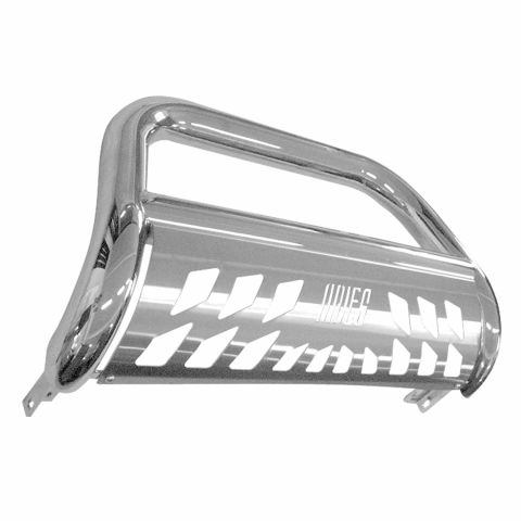 BULL BAR With SKID, 3IN,STAINLESS