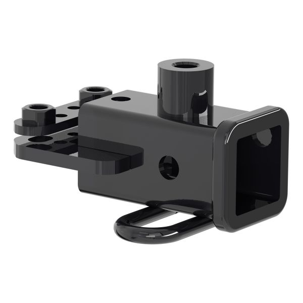 """Curt 13419 Gloss Black Class 3 Trailer Hitch w//2/"""" Receiver for 2019 Dodge 1500"""