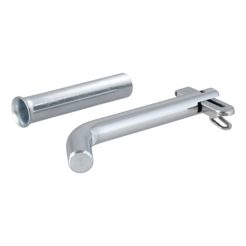 1/2in. Swivel Hitch Pin with 5/8in. Adapter (1-1/4in. or 2in. Receiver; Zinc; Pa