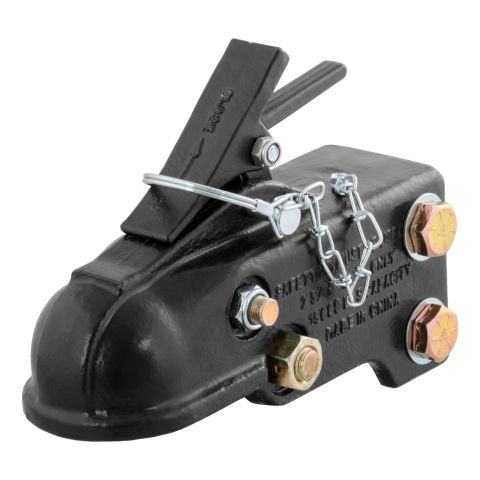 2-5/16in. Channel-Mount Coupler with Easy-Lock (15;000 lbs; Black)