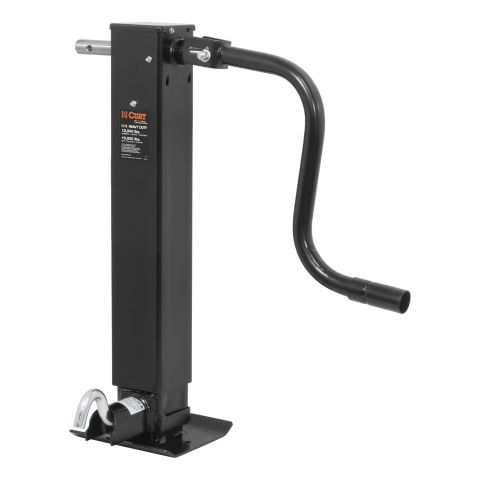 Direct-Weld Square Jack with Side Handle (12;000 lbs.; 12-1/2in. Travel)