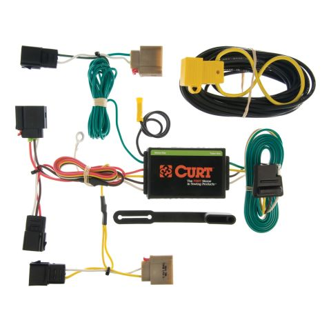 Custom Wiring; 4-Way Flat Output; Select Dodge Caliber; Jeep Patriot; Compass