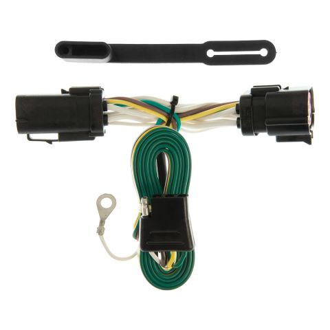 Custom Wiring Harness; 4-Way Flat Output; Select Ford F-150; F-250