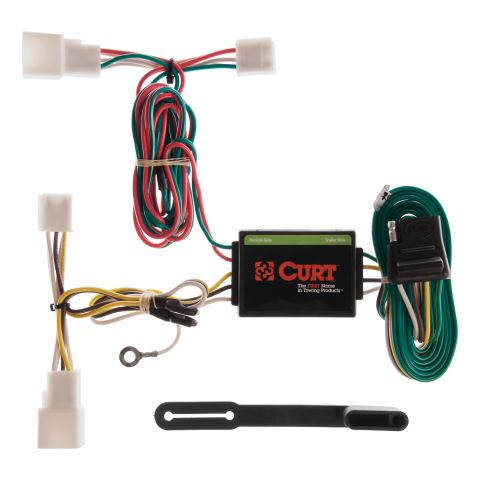 Custom Wiring Harness; 4-Way Flat Output; Select Toyota Camry