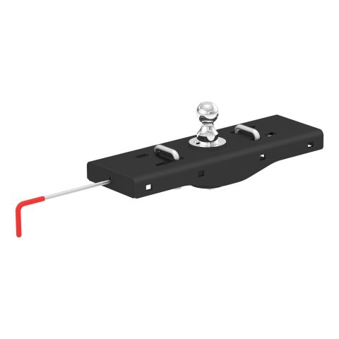 Double Lock EZr Gooseneck Hitch; 2-5/16in. Ball; 30K (Brackets Required)