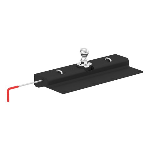 Double Lock Gooseneck Hitch; 2-5/16in. Ball; 30K (Brackets Required)