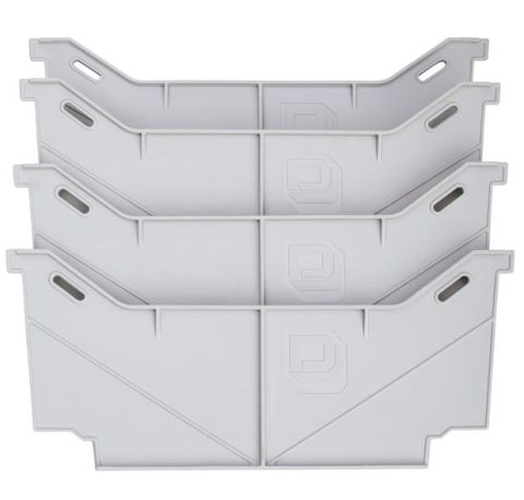 LOCKING TAB WIDE DRAWER DIVIDERS (1) one set of 4