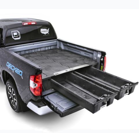 Truck Bed Organizer 15-Pres Ford F150 Aluminum 5 Ft 6 Inch DECKED