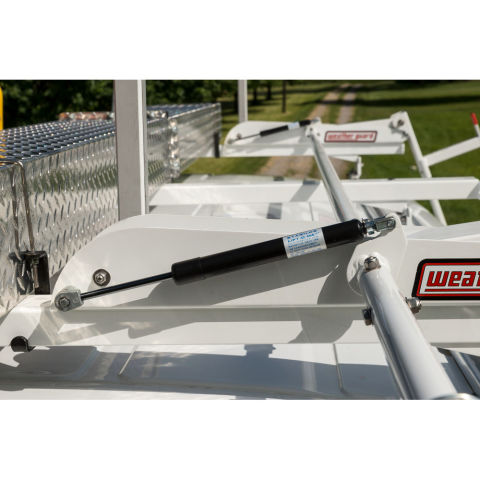 Model 2291-3-01 EZGLIDE2 Drop-down Ladder Rack, Extended, Mid/High-Roof