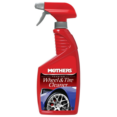 FOAMING WHEEL AND TIRE CLEANER 24OZ