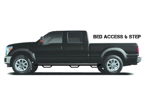 Nerf Step-W2W w/Bed Acs(3 Stps)-04-06 (07 Cls) Silv/Sierra 5ft.8in. Crew-Gloss B